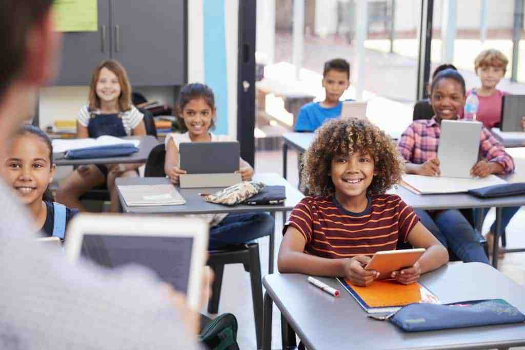 teacher using chatbots in classroom